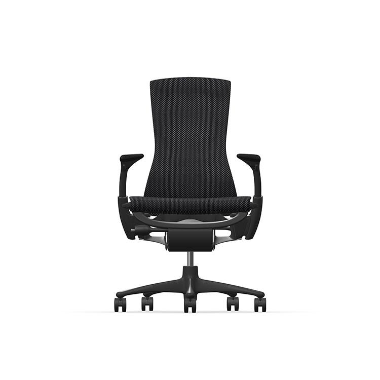 Herman Miller Embody - Business - Graphite - Balance Black