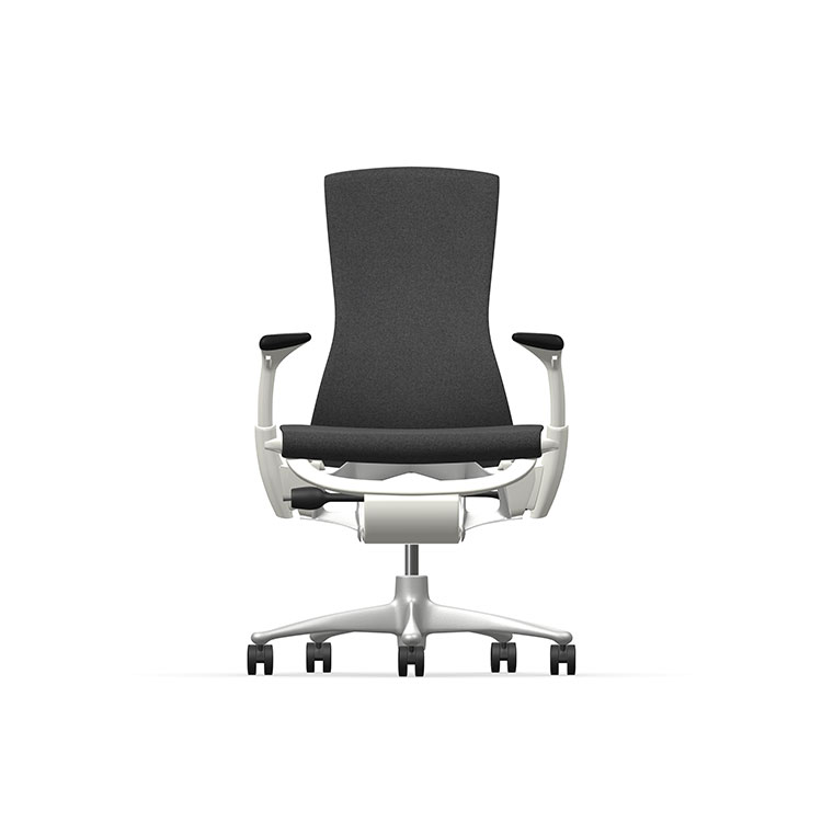 Herman Miller Embody - Business - White Titanium - Sync Black