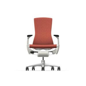 Herman Miller Embody - Business - White Titanium - Sync Canyon