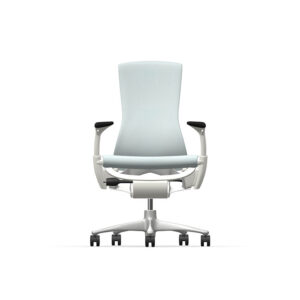Herman Miller Embody - Business - White Titanium - Sync Glacier