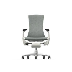 Herman Miller Embody - Business - White Titanium - Sync Slate Grey