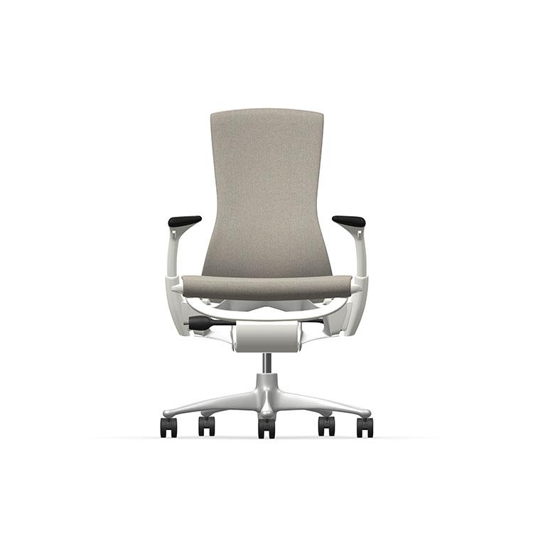 Herman Miller Embody - Business - White Titanium - Sync Pine Cone