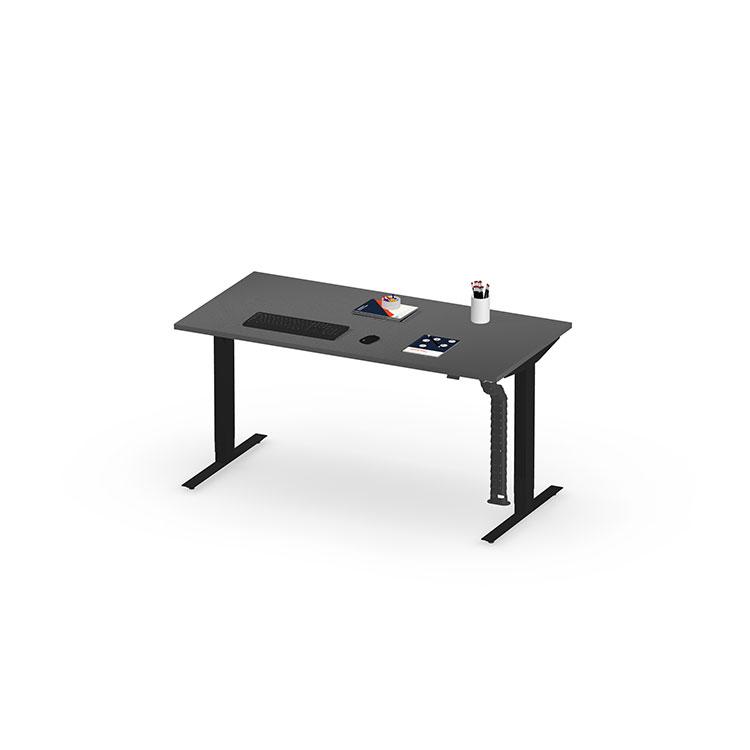 Herman Miller Nevi sit stand desk - Business - Black - 1600mm Graphite