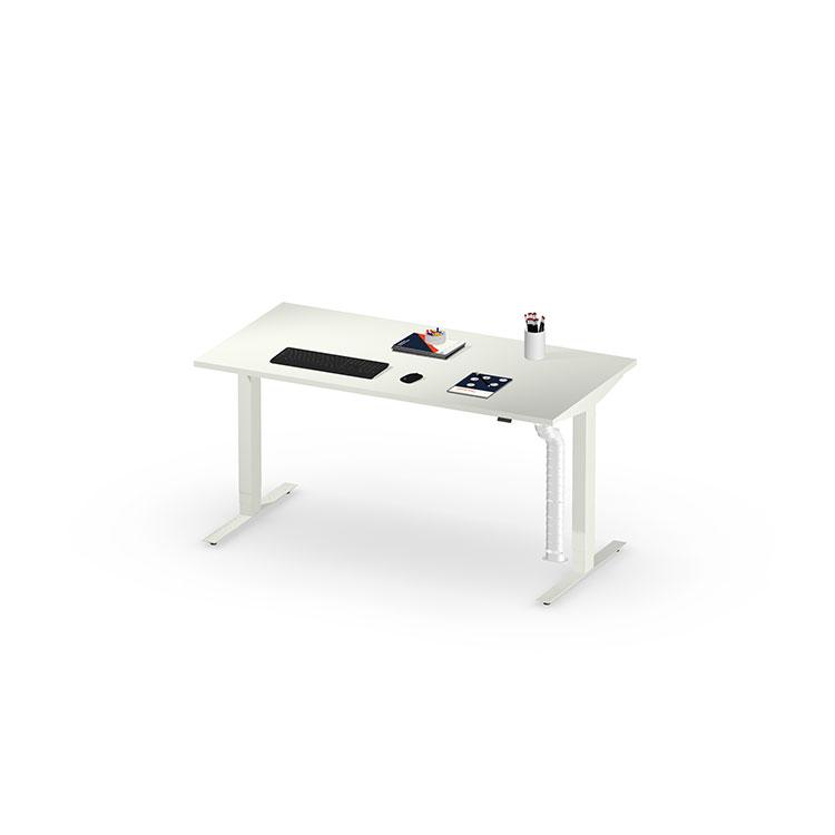 Herman Miller Nevi sit stand desk - Business - White - 1600mm Chalk White