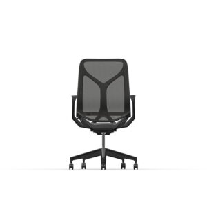 Herman Miller Cosm - Graphite - Mid - Non-adjustable arms