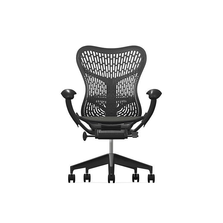 Herman Miller Mirra2 - Business - Graphite Graphite - TriFlex