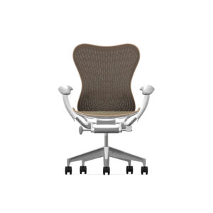 Herman Miller Mirra2 - Business - Studio White Fog Cappuccino - Butterfly