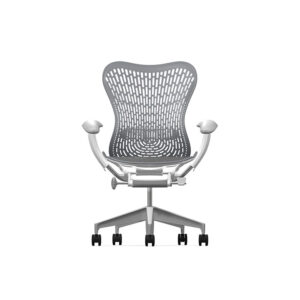 Herman Miller Mirra2 - Business - Studio White Fog Slate Grey - Triflex