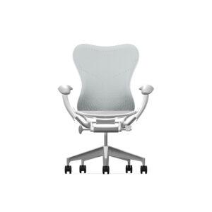 Herman Miller Mirra2 - Business - Studio White Fog Studio White Alpine - Butterfly