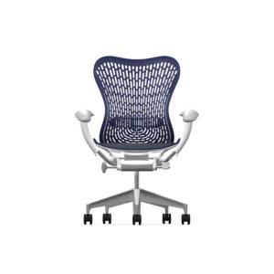 Herman Miller Mirra2 - Business - Studio White Fog Twilight - TriFlex