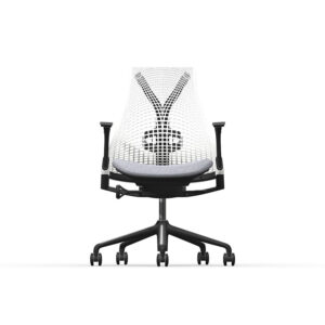Herman Miller Sayl - Business - Graphite - Blazer Silverdale - Studio White Net