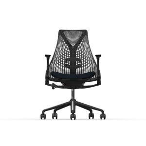 Herman Miller Sayl - Business - Graphite - Phoenix Havana - Black Net