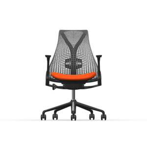 Herman Miller Sayl - Business - Graphite - Phoenix Havana - Slate Grey Net