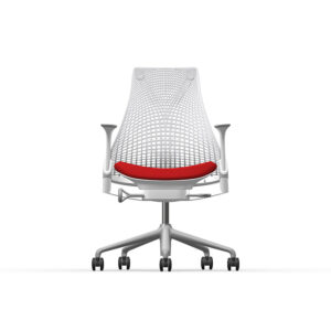 Herman Miller Sayl - Business - Studio White - Phoenix Calypso - Fog Net