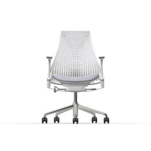 Herman Miller Sayl - Luxury - Studio White - Blazer Silverdale - Fog Net (optimized)